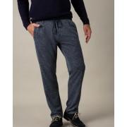Gentlemen Selection Komforthose in Fischgrat-Optik blau male 25