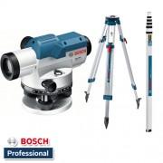 Optički uređaj za nivelisanje Bosch GOL 26 D Professional + BT 160 + GR 500