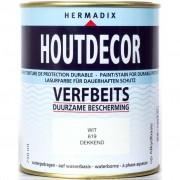 Hermadix houtdecor 619 wit 750 ml