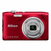 Nikon Coolpix A100 Aparat Foto Compact 20.1MP Rosu