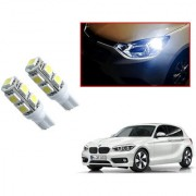 Auto Addict Car T10 9 SMD Headlight LED Bulb for Headlights Parking Light Number Plate Light Indicator Light For BMW 1 Series