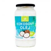 Allnature Premium Bio Coconut Oil kokosový olej pro kvalitní výživu a regeneraci 1000 ml unisex
