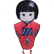 WindNSun Limited Edition Series Japanese Doll Rip-Stop Nylon Kite 36 Tall