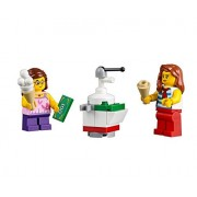 Lego City Beachgoer Minifigure: Girl & ice Cream Seller Scene Combo Pack (60153)
