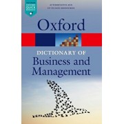 Dictionary of Business and Management, Paperback/Jonathan Law