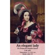An elegant lady (kit goblen)