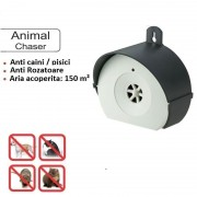 Aparat anti rozatoare caini pisici cu ultrasunete Ultrasonic Animal C