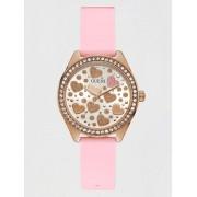 Guess Analoog Horloge Harten - Roze - Size: T/U