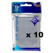 MAX PRO 1000 PERFECT FIT small INNER Sleeves for DOUBLE SLEEVING (fits Yu-Gi-Oh , Card Fight Vanguard and other small sized cards)