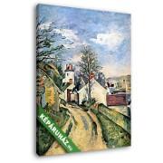 Paul Cézanne: Dr. Gachet háza (20x25 cm, Vászonkép )