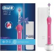 Oral B Pro 2500 Pink Toothbrush (OBPR2500P)