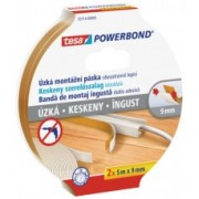 tesa Powerbond Montážna obojstranná penová páska SLIM, biela, 2x 5m x 9mm 55714-00000-04