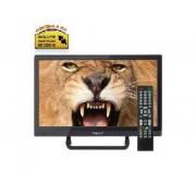 """Nevir Tv nevir 16"""" led hd ready/ nvr-7412-16hd-n/ negro/ tdt/ hdmi/ incluye adaptador coche"""
