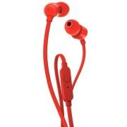 Casti Stereo JBL T110, Microfon (Rosu)