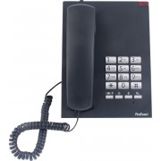 Profoon TX-310 Bureautelefoon - Klassiek desk model met waarschuwingslamp - Zwart