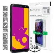 Conjunto de Protecção 4smarts 360 para Samsung Galaxy J6 - Transparente