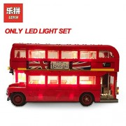 Generic Lepin Led Light Up Set 16032 21001 21045 21003 Compatible with Create Series 10258 10220 75828 10252 Camper Van 21045ONLY LED Light