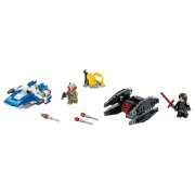 75196 A-Wing contra TIE Silencer Microfighters (75196)