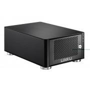"Lian Li EX-20 NAS 2-bay 3.5"" SATA HDD Enclosure - USB 2.0, eSATA"