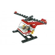 Fire brigade rescue helicopter 69pc ausini Educational Building Blocks Set Compatible to Lego Parts - Best Gift for Boys and Girls