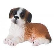 "Bullyland ""Saint-Bernard Puppy Bongo"" Figure (Multi-Colour)"