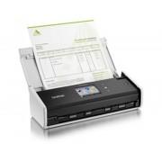 Brother Escaner documental brother ads-1600w compacto/ 18ppm/ duplex automatico/ usb 2.0/ wifi/ adf 20 hojas