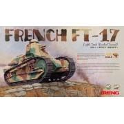 MENG Macheta tanc frantuzesc Renault FT-17 (turela nituita) 1:35