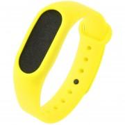 ER Sustitución Profesional Smart Watch Muñeca Tira De Silicona Banda Para Xiao Mi -Negro, Rojo, Amarillo, Verde, Luz B