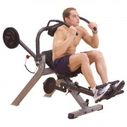Body-Solid Semi-Recumbent Ab Bench