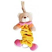 BabyBruin Plüss harmónika zenélő színes maci 32cm 55043705