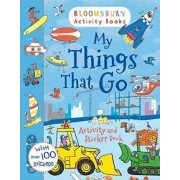 My Things That Go Activity and Sticker Book by Bloomsbury