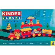 Peacock Kinder Blocks Senior Train Set Safe and Non Toxic Toys of Childrans