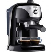 Espressor manual De'Longhi EC221.B, Dispozitiv spumare, Sistem cappuccino, 15 Bar, 1 l, Oprire automata, Negru/Gri