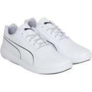 Puma BMW MS Speed Cat Synth Running Shoes For Men(White)