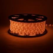 Tubo luminoso flessibile decoLED - colore arancione, 50m