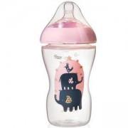 Бебешко шише за хранене - Ultra 340 мл. Tommee Tippee, розово, 2600031