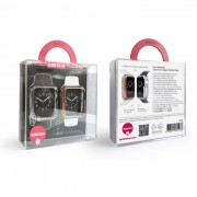 Ozaki Wardrobe 2 in 1 Set - комплект от два броя твърд кейс за Apple Watch Sport 38mm (златист и сребрист)