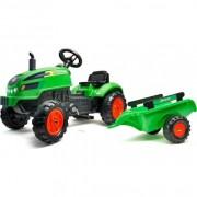 Falk Traktor na pedale sa prikolicom Zeleni (2048ab)