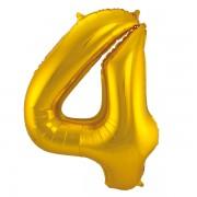 Sifferballong Guld 4