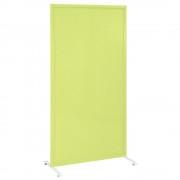 パンチングスクリーン W800×D450×H1587mm グリーン スチールスクリーン 衝立 パネル オフィス家具