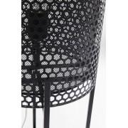 Kare Design Cut Vloerlamp 1-Lichts - Hoogte 78 Cm - Zwart