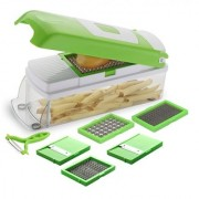 YUVI FASHION POINT 6 in 1 Fruit and Vegetable Graters Slicer Chipser Dicer Cutter Chopper