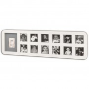 Baby Art My First Year Photo Print Frame White 34120085
