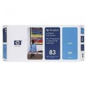 HP 83 - C4961A cabezal UV cian