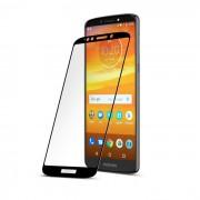 Folie sticla securizata tempered glass Motorola Moto E5 Plus, Black