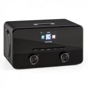 Auna Connect 100, интернет радио, мултимедиен плейър, Bluetooth, WLAN, USB, AUX, линеен изход (KC3-Connect 100 BK)