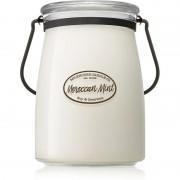 Milkhouse Candle Co. Creamery Moroccan Mint vonná svíčka Butter Jar 624 g