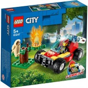 Lego Konstruktions-Spielset »LEGO 60247 City: Waldbrand«