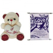 Teddy bear soft toy I love you and love you Expressing Love .for boy friend