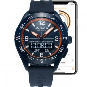 Alpina Watches Alpinerx 45mm Navy Org Bleu